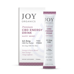 Joy Organics CBD Energy Drink Mix