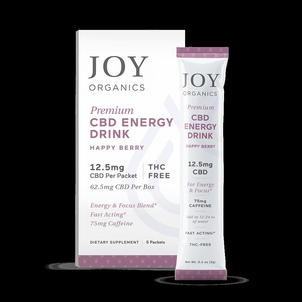 Joy Organics CBD Energy Drink Mix