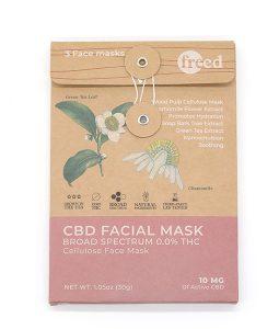 Freed CBD Facial Mask