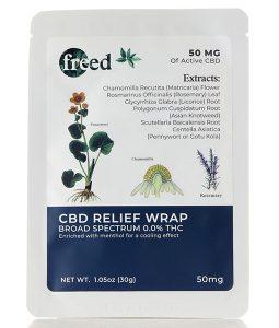 Freed CBD Relief Wraps