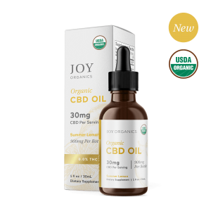 Joy Organics CBD Oil Tinctures Summer Lemon