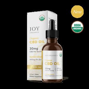 Joy Organics CBD Oil Tinctures Summer Lemon