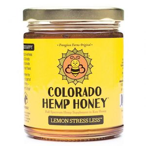 Colorado Hemp Honey Lemon Less Stress 12 oz