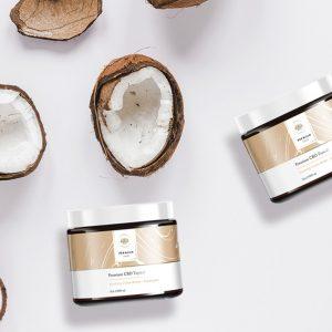 Premium Jane CBD Topical Salve 1500 mg CBD–Cocoa Butter