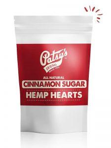 Patsys Hemp Cinnamon Sugar Hemp Hearts