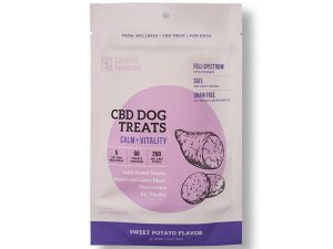 Lazarus Sweet Potato CBD and Vitality Dog Treats