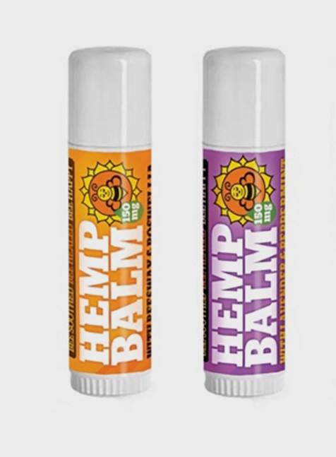 Colorado Hemp Honey HEMP BALMS (Beeswax and Boswellia)