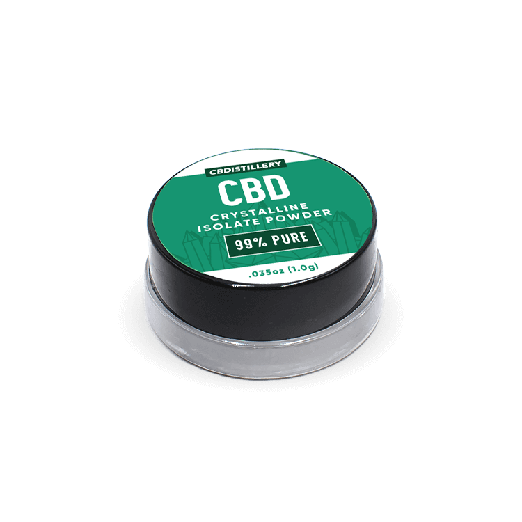 99+% Pure CBD Isolate Powder (Crystalline) from Hemp