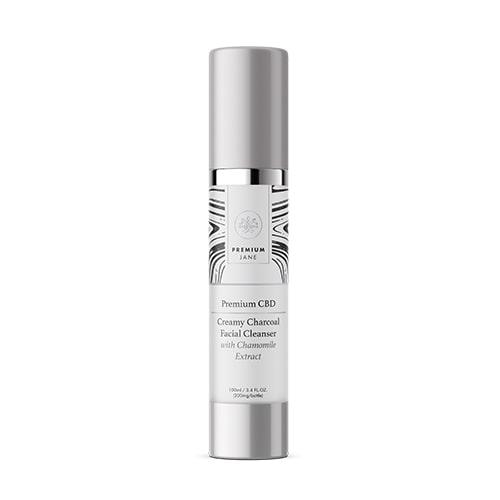 CBD Creamy Charcoal Facial Cleanser – 200 mg CBD