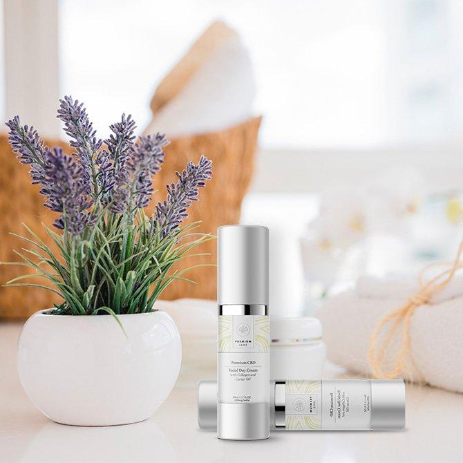 CBD Facial Day Cream – 300 mg CBD
