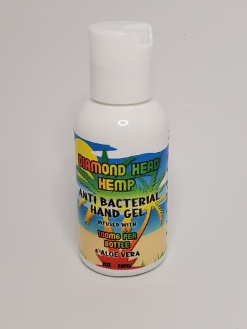 Hemp based Hand Sanitizer with Aloe by Diamond Head