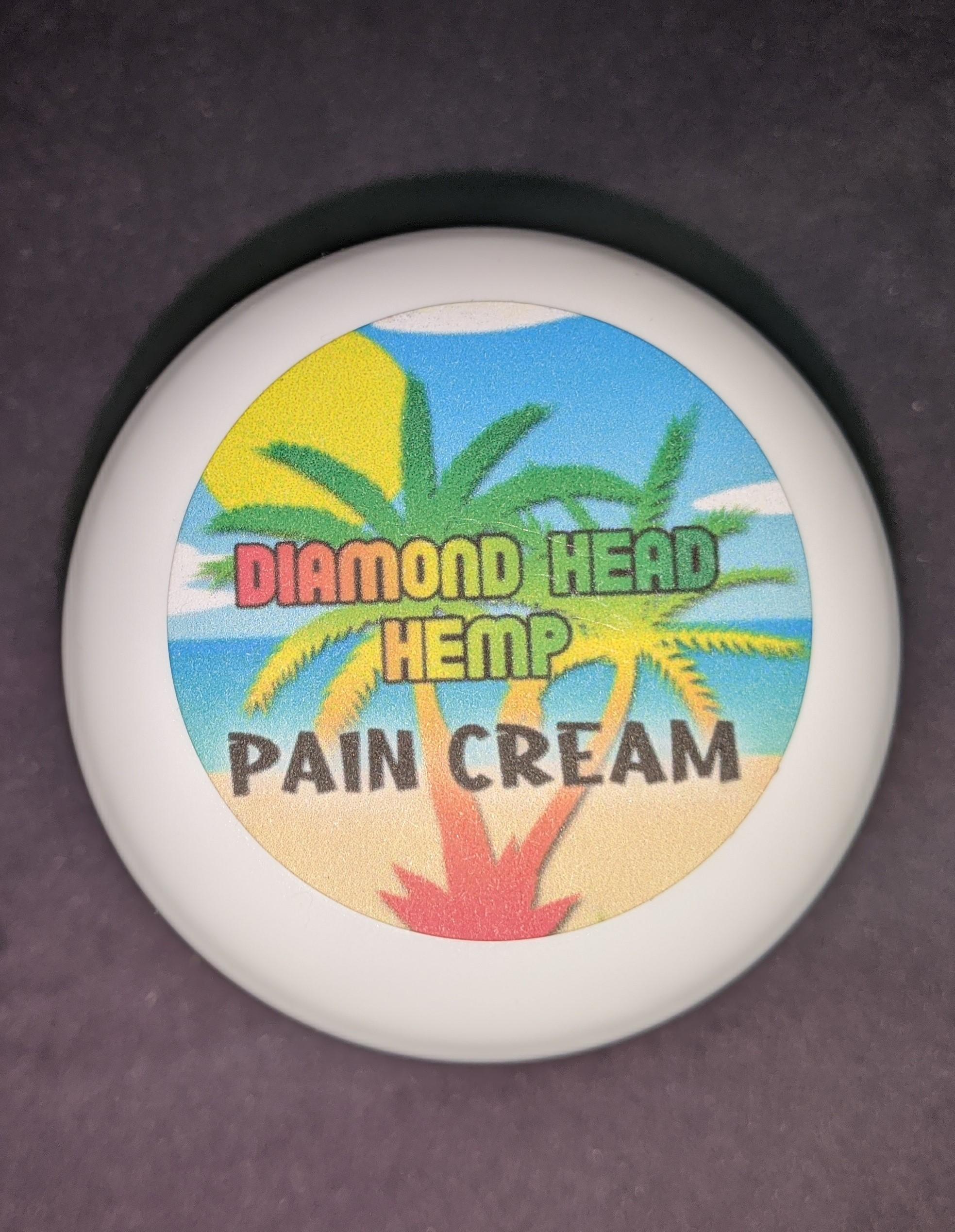 Hemp Pain Cream 1000 MG by Diamond Head