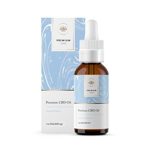 600mg Premium Jane Natural CBD Tincture Oil Full Spectrum CBD Oil – 1 oz / 30mL