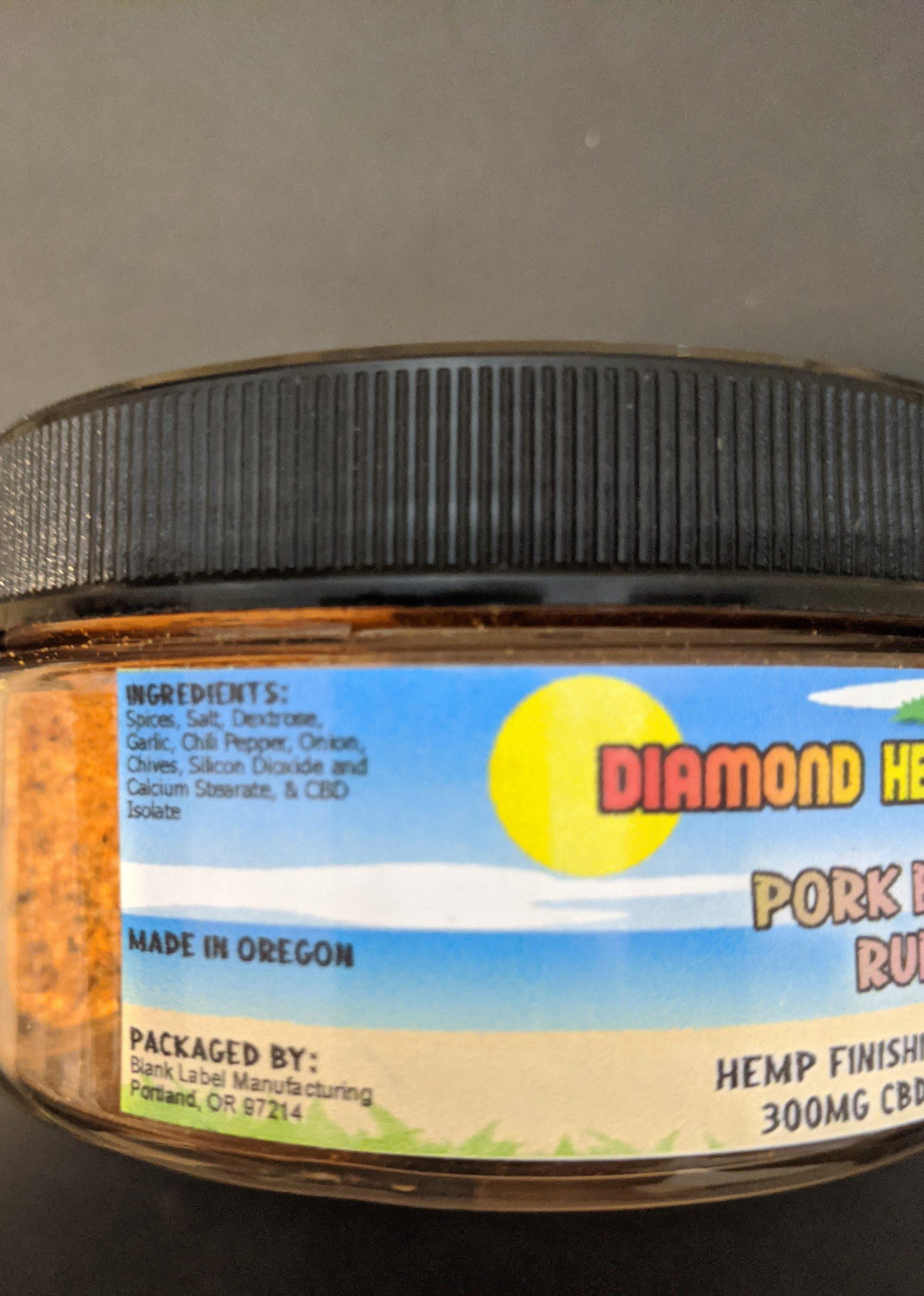 Delicious Pork Butt Seasonings CBD infused