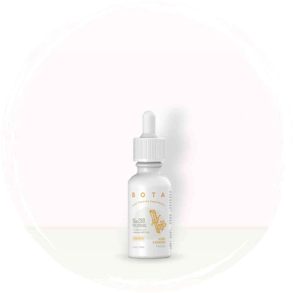 Calming & Nourishing Cinnamon Tincture - 10mg CBD, Serving