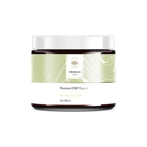 CBD Topical Salve – 750 mg CBD – Eucalyptus