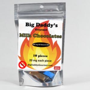 Big Daddy Sugar Free Chocolates - 10 count (200 MG CBD)