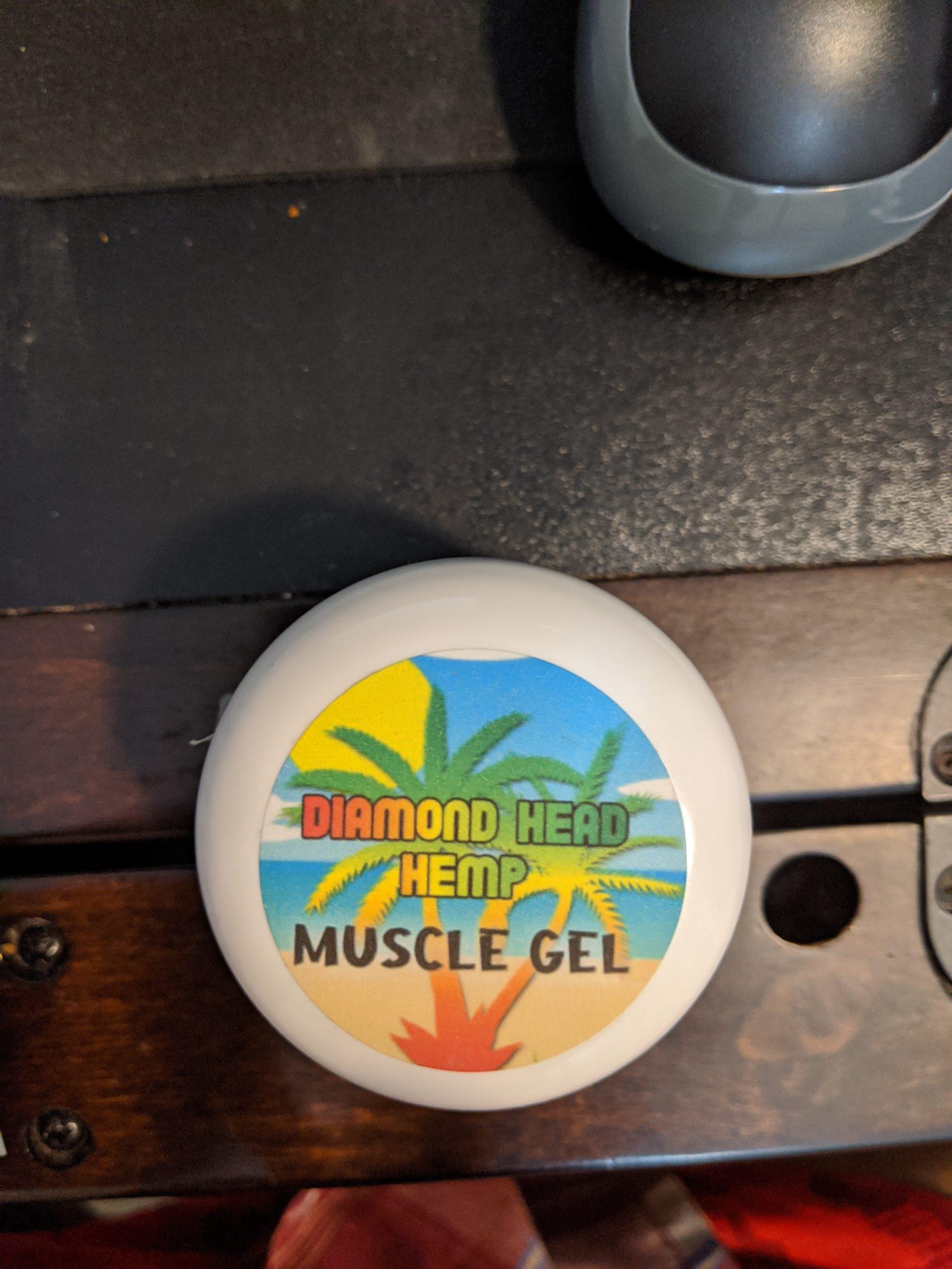 Hemp Muscle Gel 1500 MG by Diamond Head