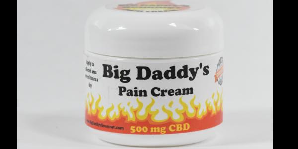 Big Daddy 2 OZ Jar of 1000 MG CBD Pain Cream