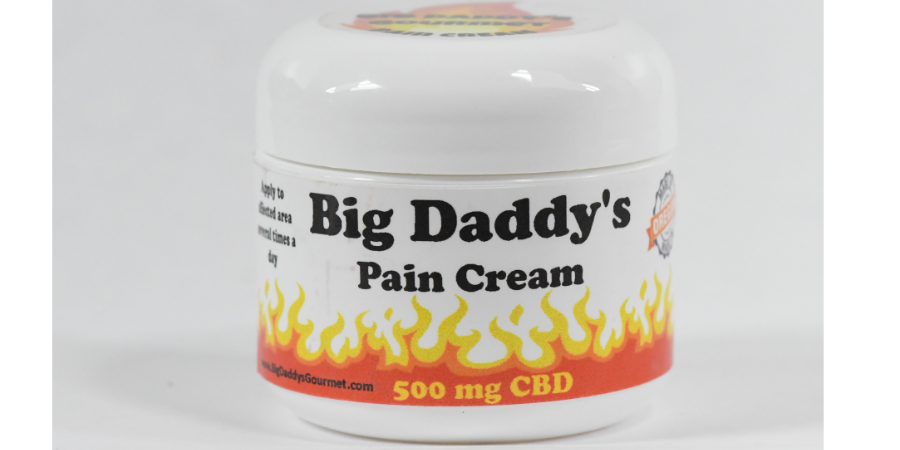 Big Daddy 2 OZ Jar of 500 MG CBD Pain Cream