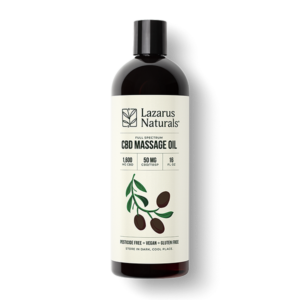 Unscented CBD Massage Oil
