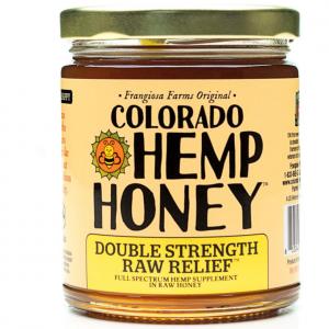 Colorado Hemp Honey RAW RELIEF Double Strength 6 OZ