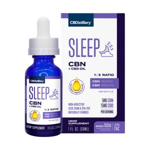 CBN and CBD Sleep Tincture