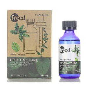 CBD Tinctures Cool Mint Flavor