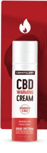 CBDistillery CBD Warming Cream