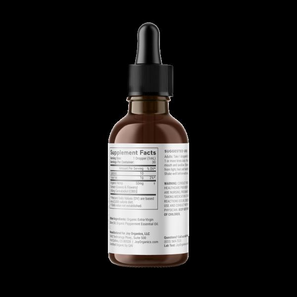 Joy Organics CBD Oil Tinctures (Broad Spectrum)