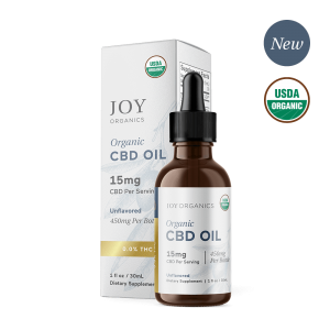 Joy Organics CBD Oil Tinctures Unflavored