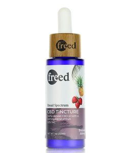 Freed CBD Tinctures Tropical Flavor