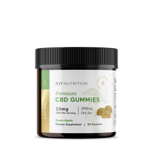 Joy Organics CBD Gummies Green Apple
