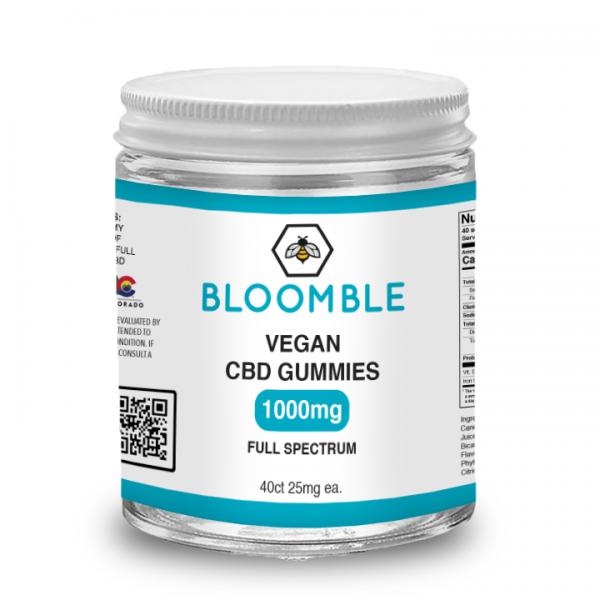 Bloomble Vegan CBD Gummies 1000mg