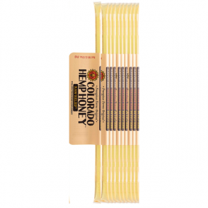 Colorado Hemp Honey Raw Relief Sticks 100 Ct