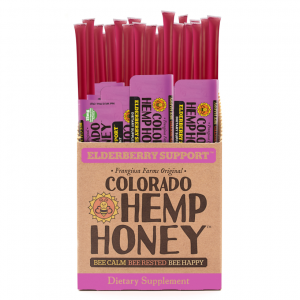 Colorado Hemp Honey ELDERBERRY SUPPORT STICKS