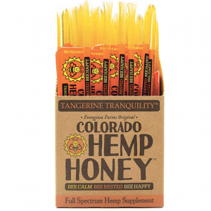 Colorado Hemp Honey Tangerine Tranquility Sticks 10 Ct