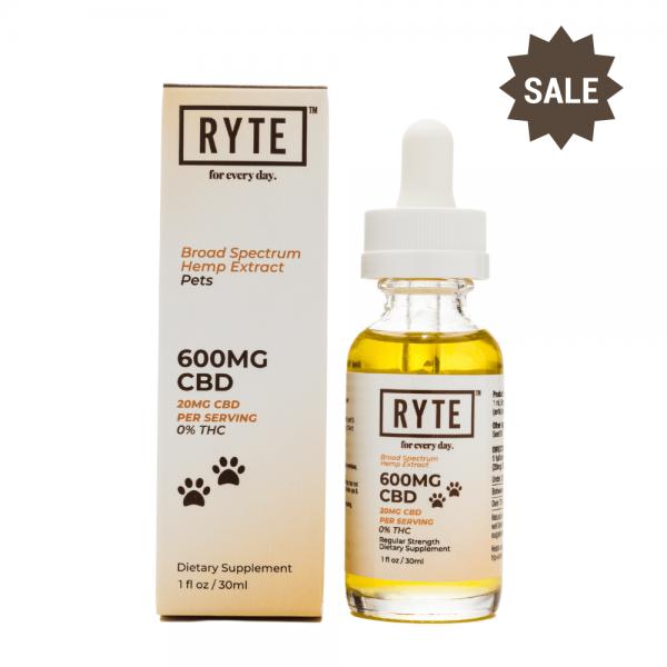 Ryte Pet Tincture 600mg