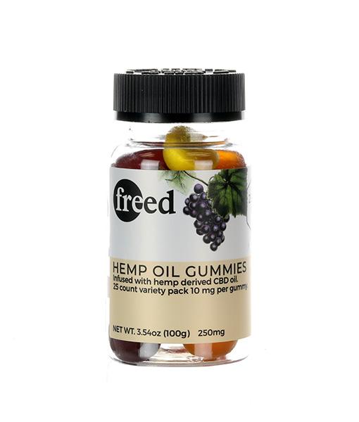 Freed Hemp Gummies 25 Ct