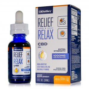 CBDistillery Full Spectrum CBD Oil – 1000mg – 30ml