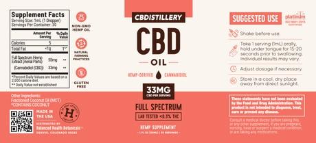 cbdistillery com Man's Best Friend CBD Oil Pack - 1000mg Tincture - 150mg Pet Tincture