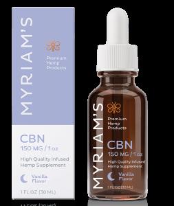 Myriams Premium Hemp CBN Oil