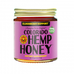 Colorado Hemp Honey ELDERBERRY SUPPORT JARS