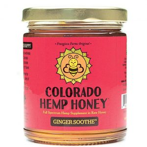 Colorado Hemp Honey Ginger Soothe Jars 6 Oz