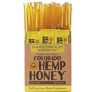 Colorado Hemp Honey Double Strength Sticks 100 Ct