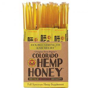 Colorado Hemp Honey Double Strength Sticks 100 Ct