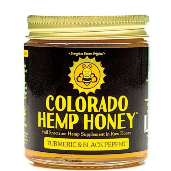 Colorado Hemp Honey Turmeric and Black Pepper 6 Oz