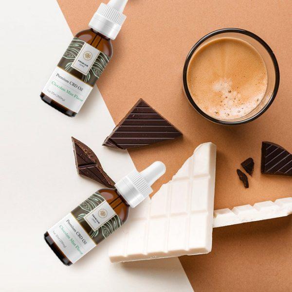 Premium Jane CBD Oil Mint Chocolate Flavor – 1 oz / 30ml