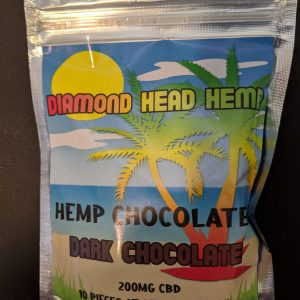 CBD Dark Chocolate Pieces by Diamond Head