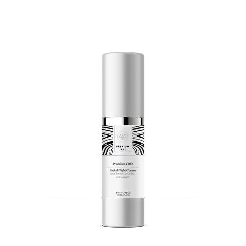 Premium Jane CBD Facial Night Cream – 300 mg CBD